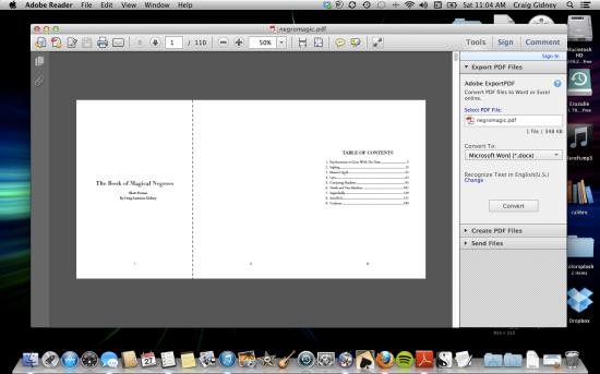 Screenshot of WIP