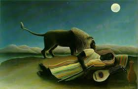 The Sleeping Gypsy, by Henri Rousseau