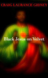Black Jesus on Velvet