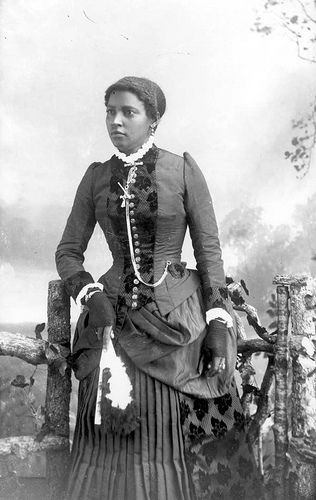 An Afro-Victorian Lady