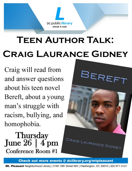 Author Talk Craig Laurance Gidney-page-0