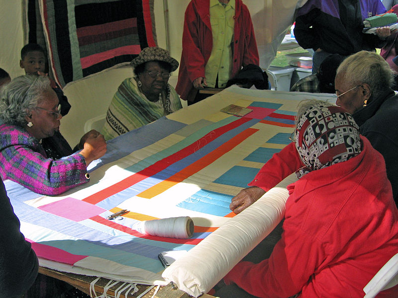 The quilters of Gee's Bend